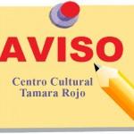 Horario Centro Cultural Tamara Rojo fiestas patronales