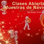 Clases abiertas y Muestras de Navidad